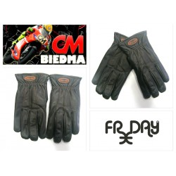 GUANTES FREE DAY PIEL NEGRO