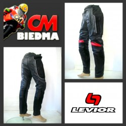 PANTALON LEVIOR RACING CARRETERA. NEGRO