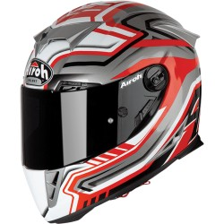 CASCO AIROH GP5R55 GP500 RIVAL RED GLOSS