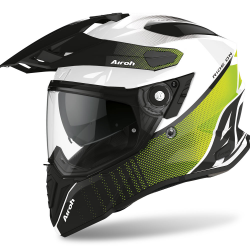CASCO AIROH COMMANDER PROGRESS LIMA BRILLO