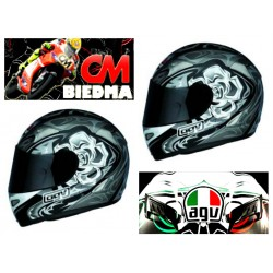 CASCO AGV TI TECH ROSE