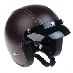 Casco Jet Origine Primo Clasico Marron