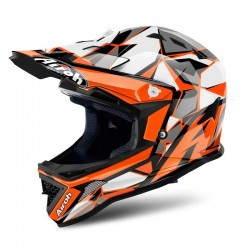 CASCO AIROH INFANTIL ARCHER CHIEF NARANJA BRILLO