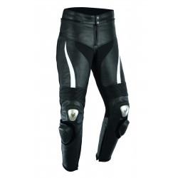 Pantalones de cuero para moto (unisex)