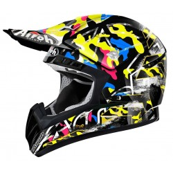 Casco de Cross Airoh Cr901 Rookie Negro AIROH