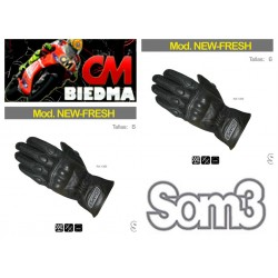 GUANTES SOM3 NEW FRESH COLOR NEGRO