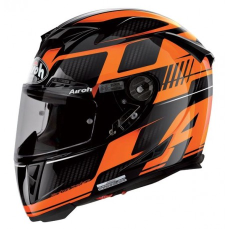 Casco integral  AIROH GP500 FIRST ORANGE GLOSS