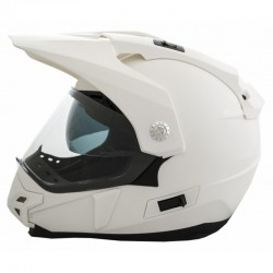 CASCO OFF ROAD LEM  TRAIL WHITE BLANCO