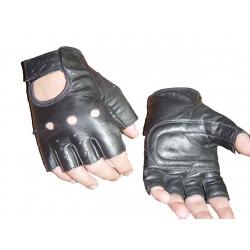 GUANTE PIEL CUSTOM SIN DEDOS NEGRO  Leer más: http://www.kummotoline.es/products/guantes-sin-dedos/
