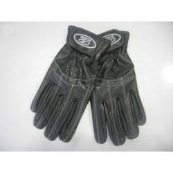 GUANTE PIEL CALADO VERANO MOD.FRESH NEGRO   Leer más: http://www.kummotoline.es/guantes/