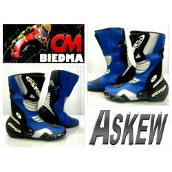 BOTAS ASKEW RACING X8 COLOE AZUL
